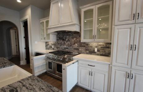 cabinet view kitchen