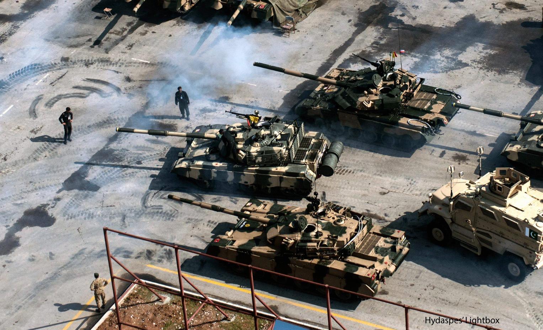 Pakistan's tanks