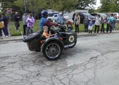 Jackson in side car