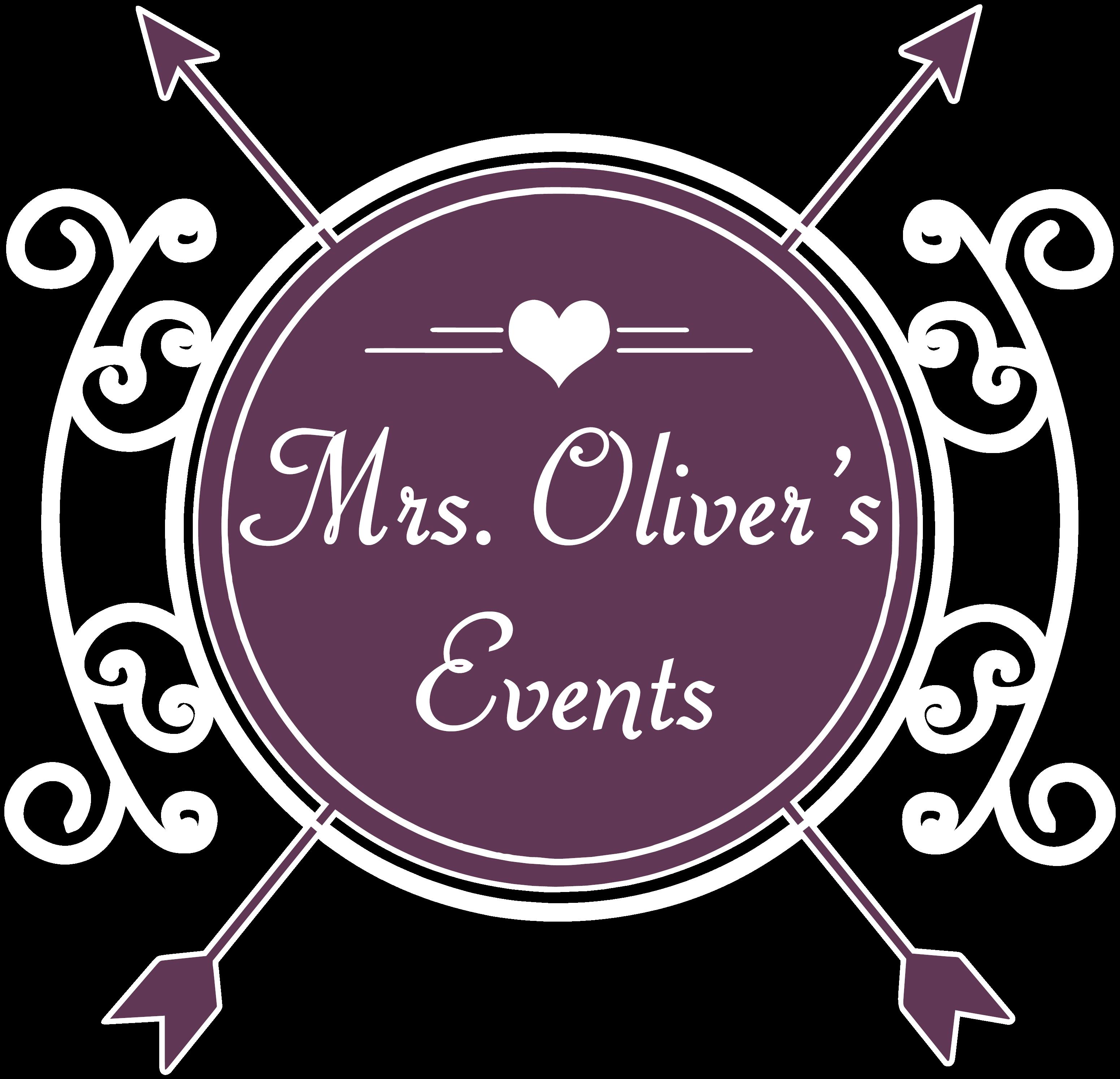 Mrs. Oliver's Weddings & Event Planning Logo