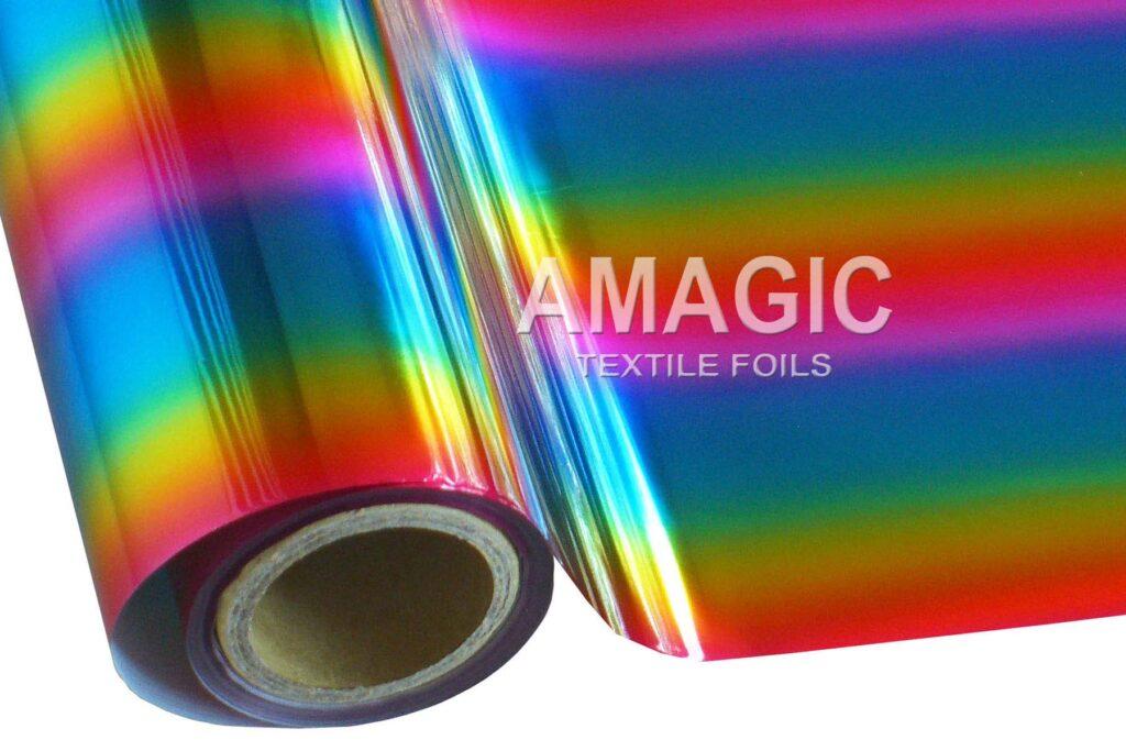 MCAA01 Rainbow foil