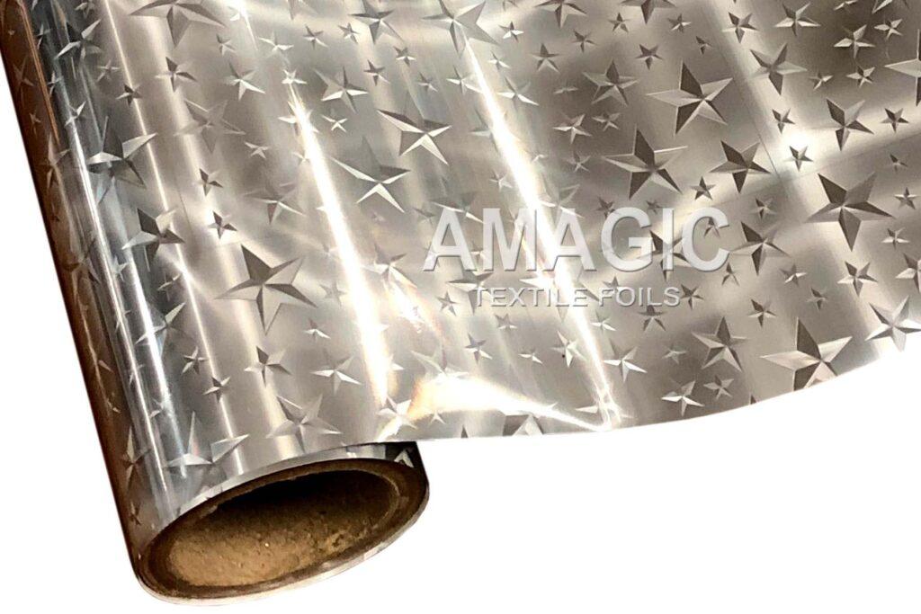 S0HM04 3D Stars foil