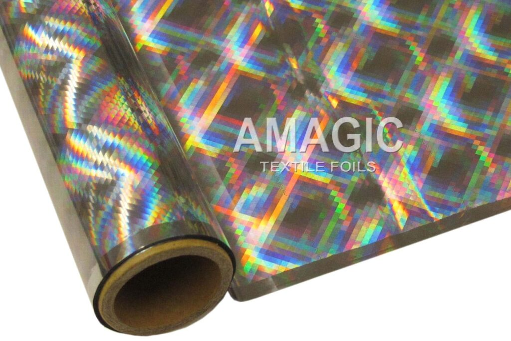 S0MP06 Hyper Plaid foil