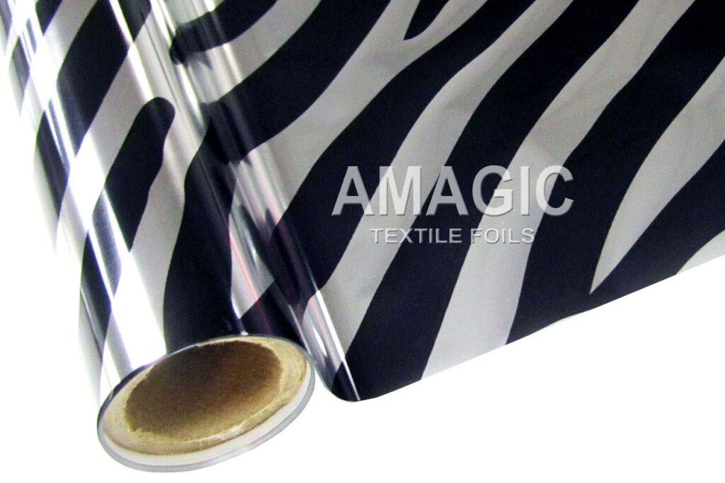 S5ZBRA Silver Zebra foil