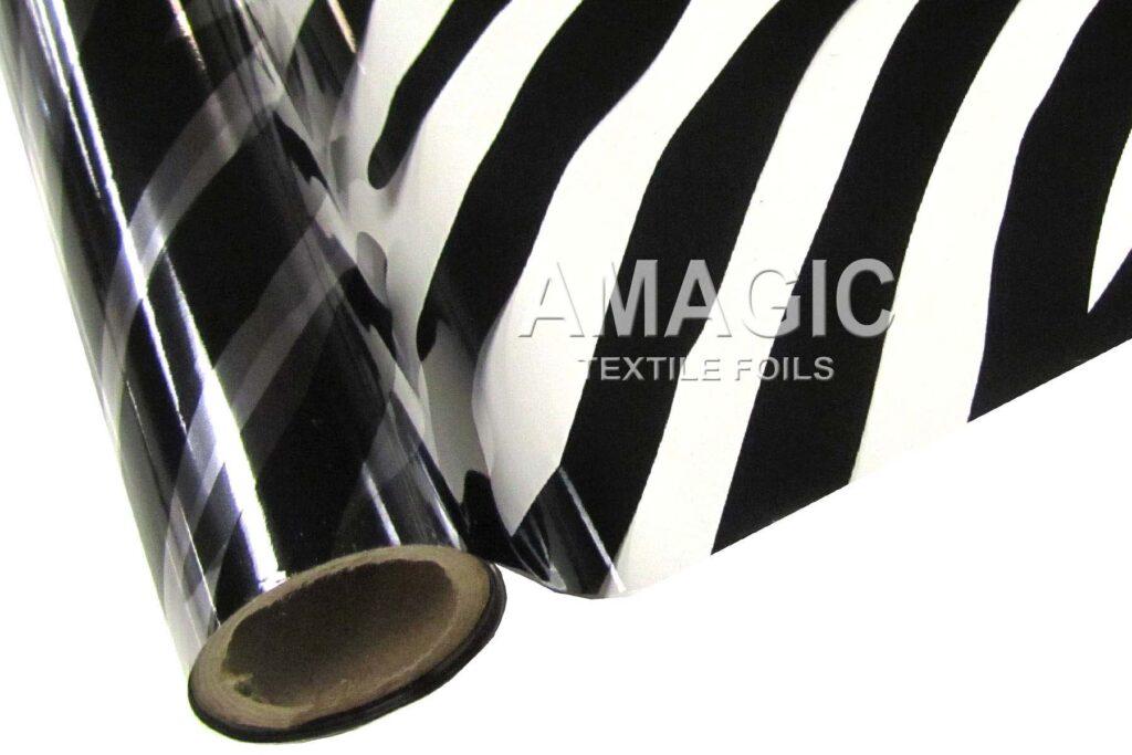 T3ZBRA Clear Zebra foil