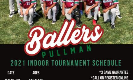 2021 Baseball Tournament Schedule
