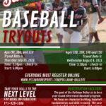Pullman Ballers Baseball Tryouts