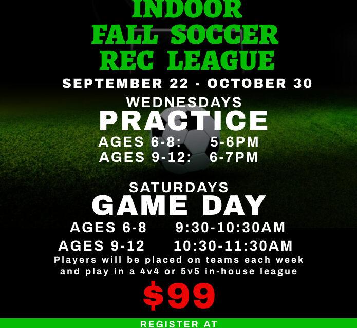 Pullman Indoor Soccer League