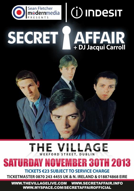 Secret Affair - The Village Dublin