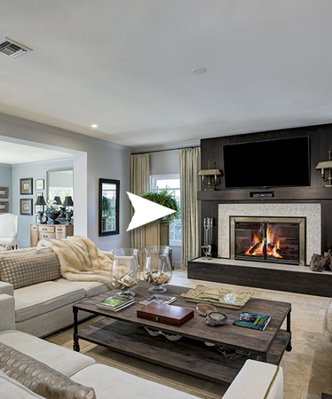 photo of a living room with a fireplace in Longwood Fl