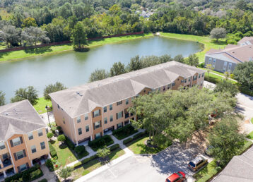aerial photo of a home in apopka fl