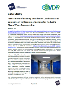 Assessment of Existing Ventilation Conditions_Cover