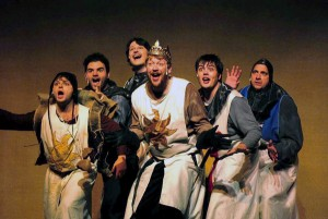 """Monty Phython's """"Spamalot"""" will play this Friday and Saturday at 7:30 p.m. and Sunday at 2:30 p.m. Photo Courtesy of Anthony Ventura."""