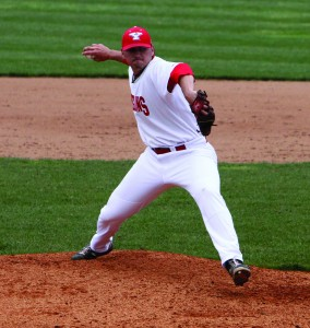 Senior Nic Manuppelli, named the Horizon League's fifth best professional prospect by Perfect Game, returns to the mound with the Penguins this season. The season opens against Virginia Tech and Charlotte on Friday in Charlotte, N.C.
