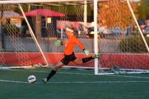 Jackie Podolsky recorded three saves in Saturday's game against Milwaukee. She currently ranks seventh in the Horizon League in goals against.