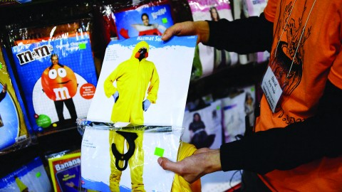 Ebola hazmat suit on sale as Halloween costume