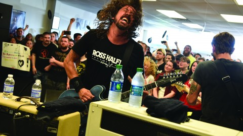 Photo courtesy of Foo Fighters: Theo Wargo.