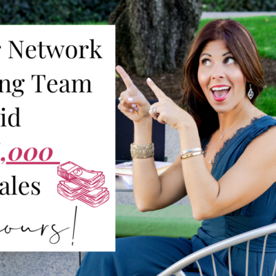 How Our Network Marketing Team Did $146,000 In Sales In 24 Hours