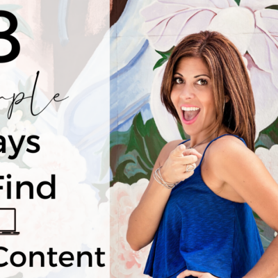 8 Simple Ways to Find Great Content