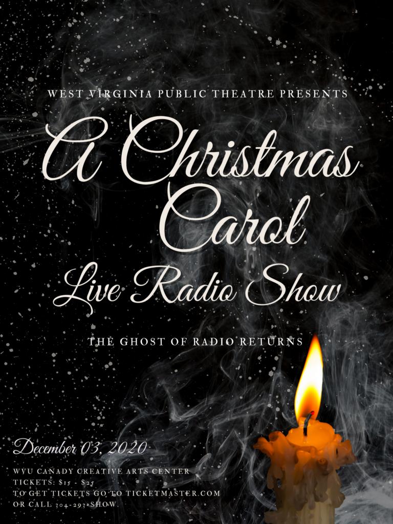 A Christmas Carol Live Radio Show poster
