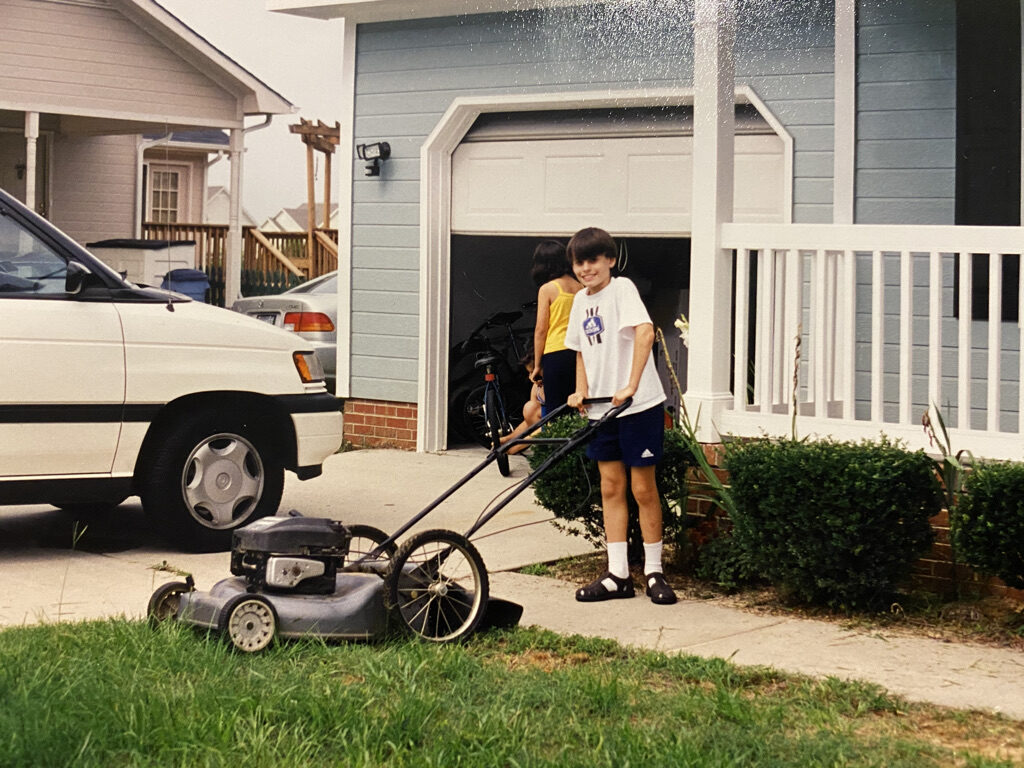 Owner Kyle starting the business in 1995