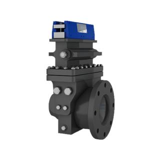 Inline Dual Chamber Orifice Differential Pressure Flow Meter