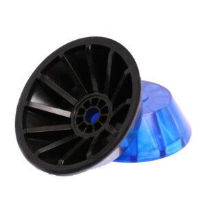 AutoFlex Knott End Bell 3″ Black