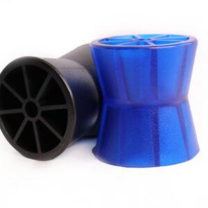 Autoflex Knott 3.5″Blue Bow Roller