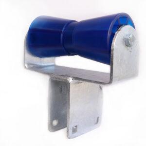 AutoFlex Knott Single Bow Roller Assembly 8″ Blue