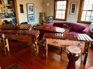 South African Marimba Classes • 7 Week Series • Every Tuesday & Thursday @6PM • May 4 -June 17, 2021 @ Beauty Hill Music Studios