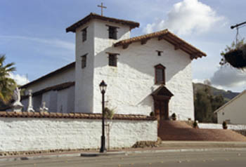 Restored Mission San Jose in Fremont Photograph by Doug Aitken