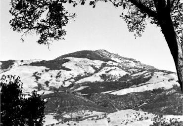Photograph of Mt. Diablo by Bill Hockins