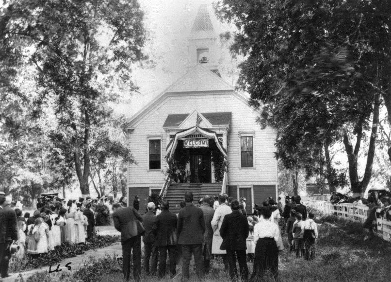 School dedication 1896