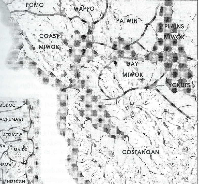 Map from Milliken's book Time of Little Choice, p. 25