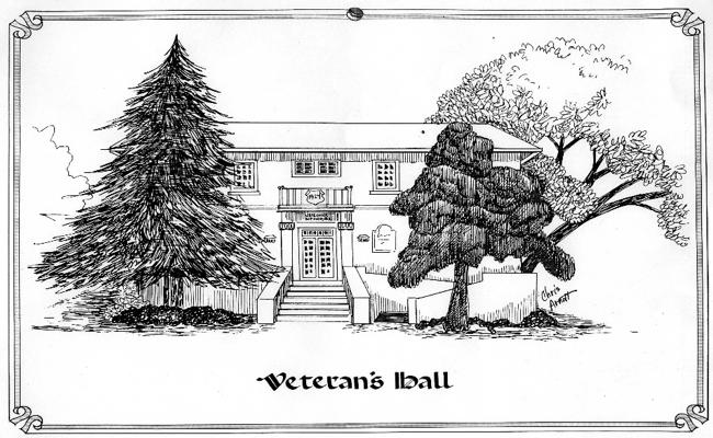 American Legion Hall by Chris Arnott