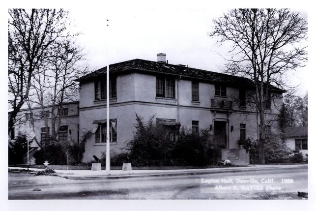 Legion Hall  1950  by Al Davis