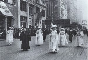 Woman Suffrage New York City Parade