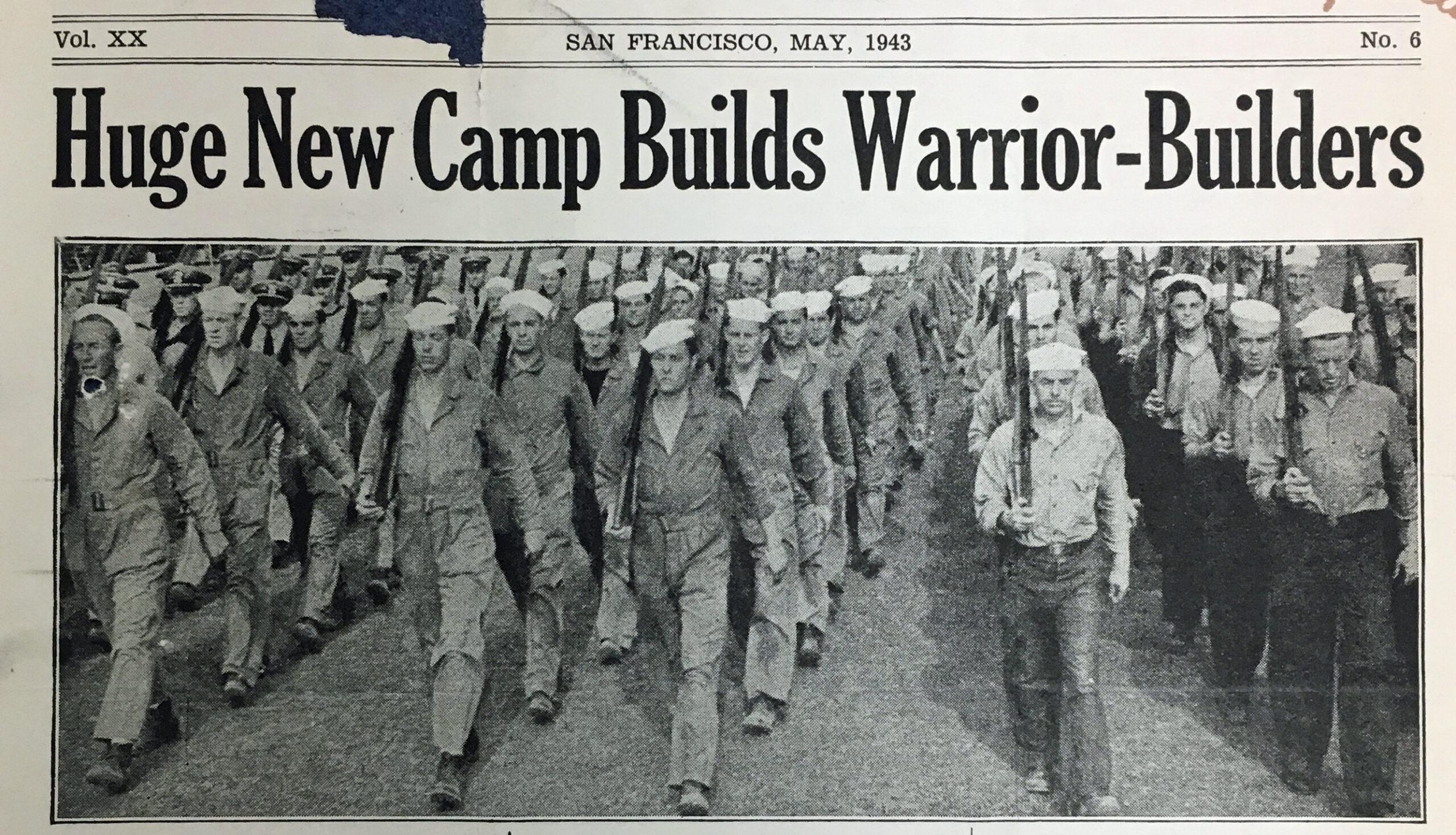 Huge New Camp Builds Warrior Builders 1943