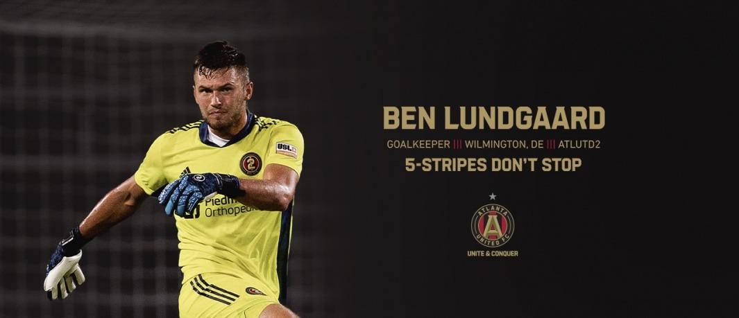 Delaware FC alum Ben Lundgaard signs with Atlanta United
