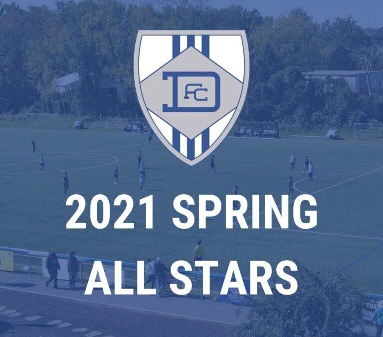 Spring Allstars Announced
