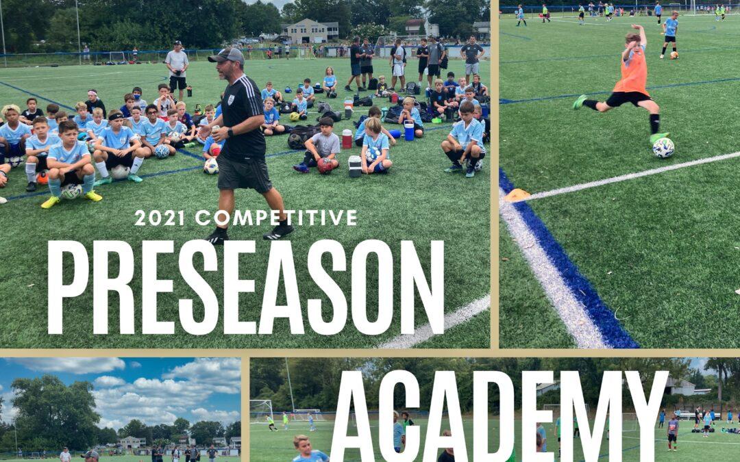 Competitive Preseason Academy Kicks Off!