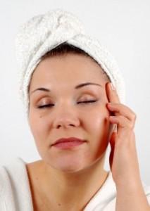 Pre Cranial Adjustment Facial massage