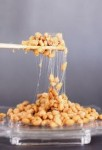 Natto is a good source of friendly gut bacteria