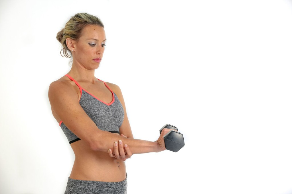 Forearm extensions are a good place to start your tennis elbow rehab