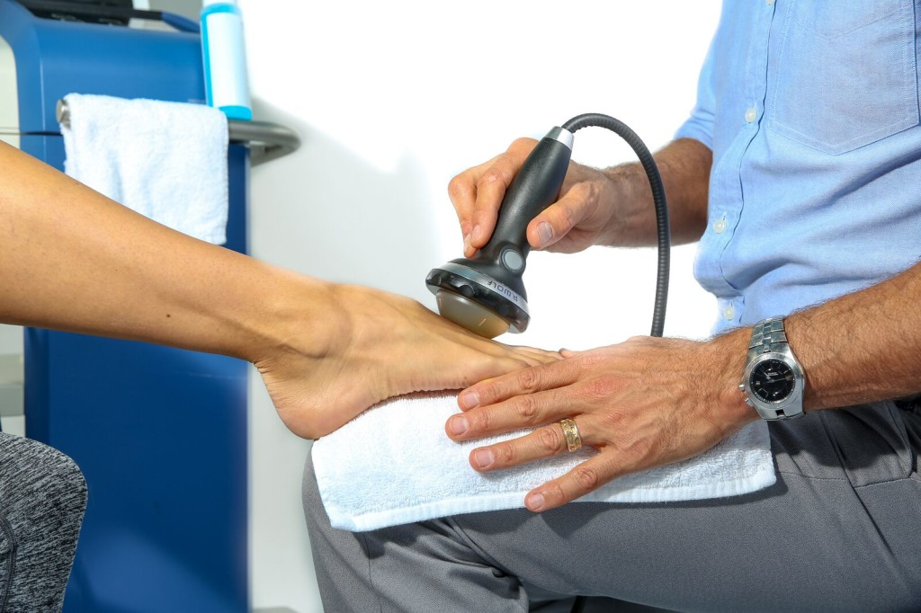 Extracorporeal Shockwave Therapy and Morton's Neuroma