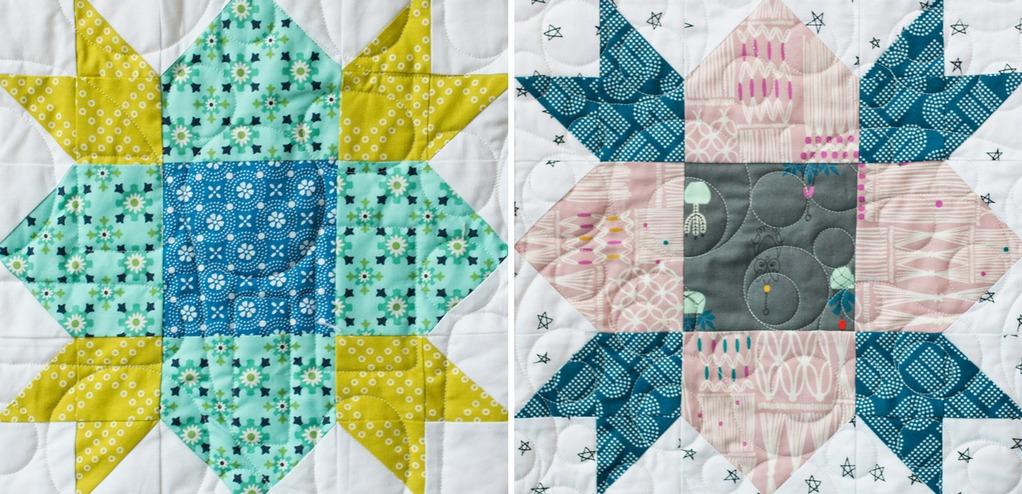 Wildflower Blocks from Heartland Heritage Quilt
