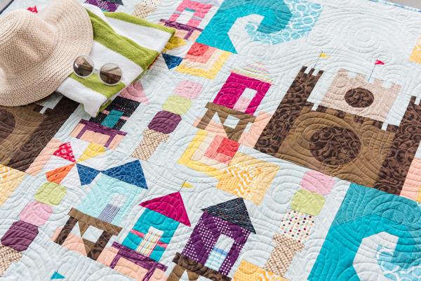 Beach Bound Quilt Pattern in shops now!