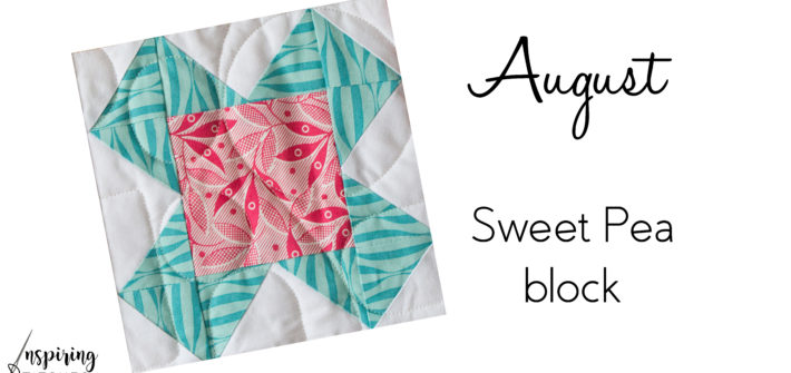 We are excited to start the next block in Heartland Heritage. This Sweet Pea block is simple and cute. This scrappy quilt pattern is the perfect design for building your quilting skills.