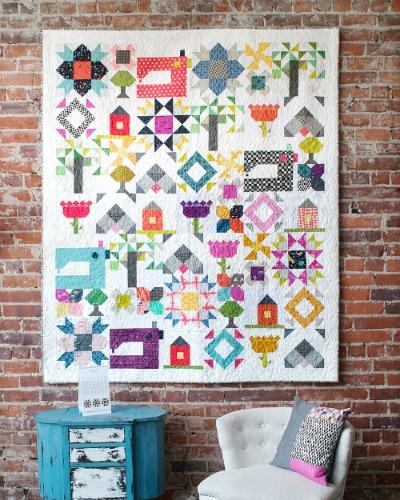 Heartland Heritage Quilt Pattern   Inspiring Stitches