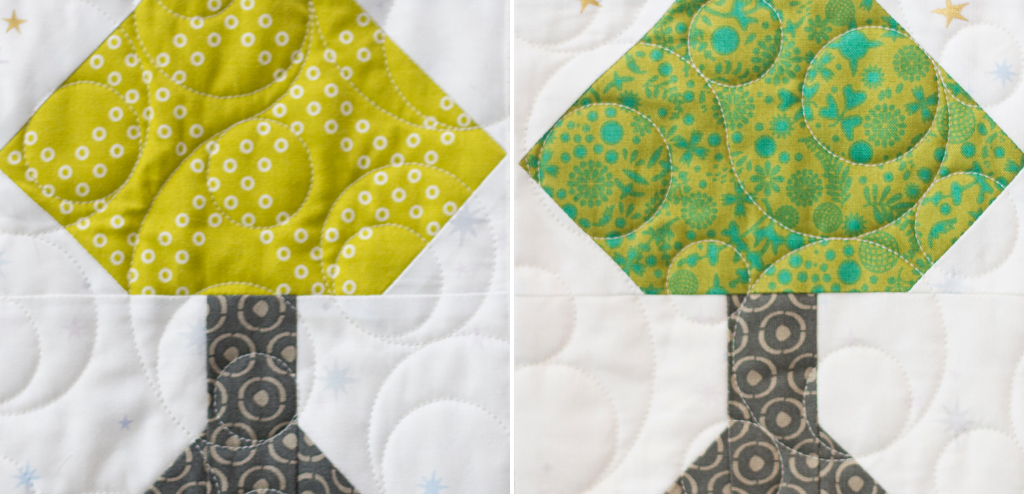 The Tree Block is the final unit in the Heartland Heritage Block of the Month pattern. This scrappy design is the perfect way to build your quilting skills.